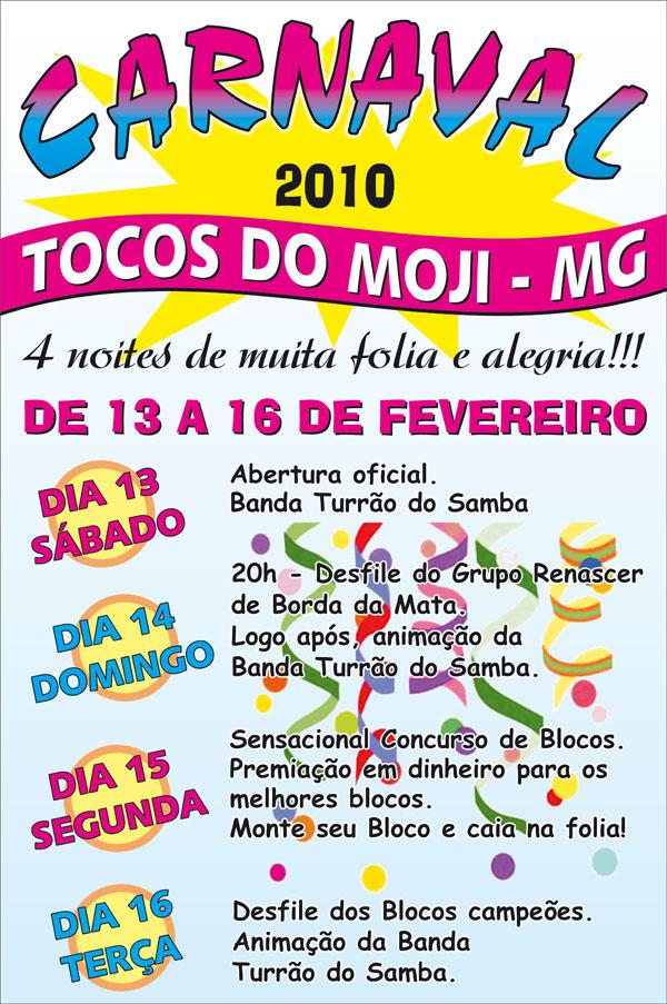 Carnaval em Tocos do Moji