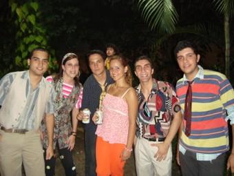 Hallan, Walquíria,Dennes, Cindy,Assir e Júlio.