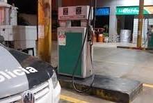 Roubo em posto de gasolina