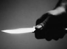 ameaças com faca