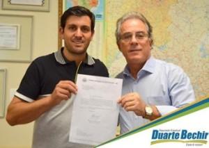 Ederson e Duarte